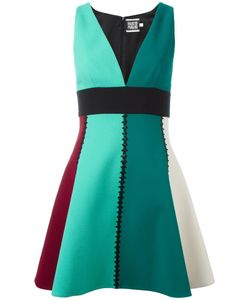 Fausto Puglisi | V-Neck Dress 44 Acetate/Viscose/Wool