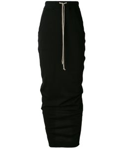 RICK OWENS DRKSHDW | Drawstring Maxi Skirt Size Small