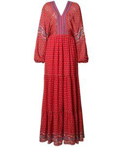 Ulla Johnson | Long Peasant Dress 0 Polyester/Silk