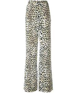 Roberto Cavalli | Leopard Print Palazzo Pants Size 50