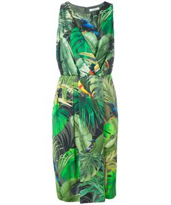 Max Mara | Tropical Print Dress