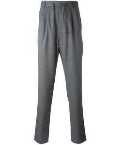 Brunello Cucinelli | Drawstring Pants 52 Wool/Viscose/Acetate/Cotton