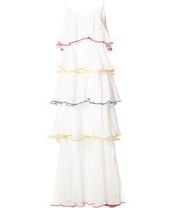 Lisa Marie Fernandez | Pleat Trim Flared Dress Women