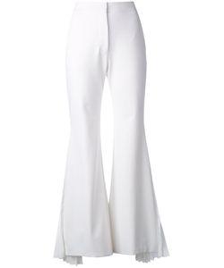 Sara Battaglia   Flared Tailored Trousers Size 42