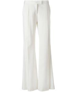 Stella Mccartney | Jasmine Trousers 42 Wool/Cotton/Viscose/Silk