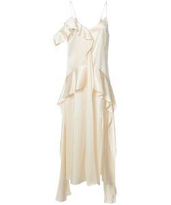 Jonathan Simkhai   Ruffled Slip Dress Size 6
