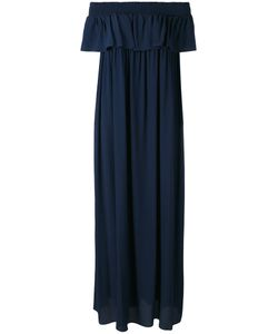 P.A.R.O.S.H. | P.A.R.O.S.H. Deep Frill Bardot Dress