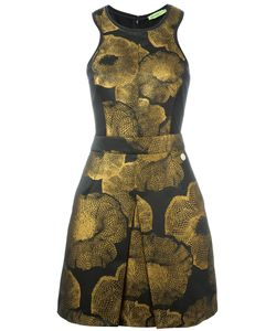 Versace Jeans | Print Dress 40 Cotton/Polyamide/Spandex/Elastane/Acetate