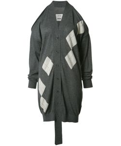 UMA WANG   Cut-Off Midi Cardigan Medium Cashmere