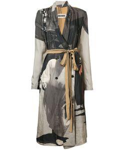 UMA WANG | Printed Belted Coat