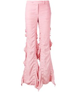 Marco De Vincenzo | Flared Frill Trousers