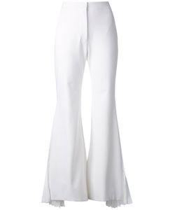 Sara Battaglia | Flared Tailored Trousers
