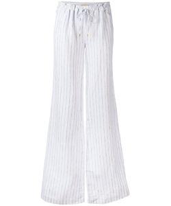 Michael Michael Kors | Drawstring Pinstripe Trousers