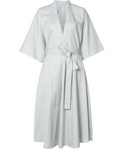 TOME | Midi Wrap Dress 6 Cotton