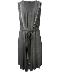 Unconditional | Платье С Капюшоном И Неравномерным Подолом