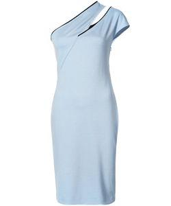 Mugler | Облегающее Платье На Одно Плечо