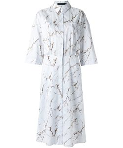 ANDREA MARQUES | All-Over Print Shirt Dress