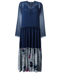 See By Chloe | See By Chloé Pleated Skirt Peasant Dress 40