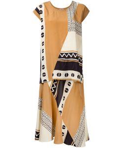 Nehera | Print Dress 36 Silk