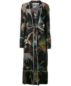OFF-WHITE | Birds Print Pyjama Dress