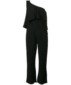 Elie Saab | One Shoulder Frill Jumpsuit Size 36