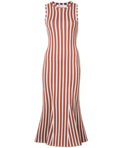 Victoria Beckham | Striped Fitted Dress Size 1