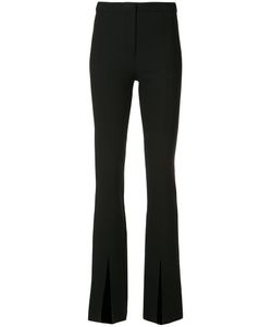Cinq A Sept | Front Slit Trousers 0 Polyester/Viscose/Spandex/Elastane