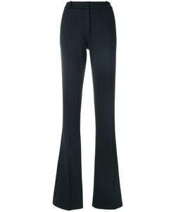 Kiltie   Pinstripe Boot-Cut Trousers Women 42