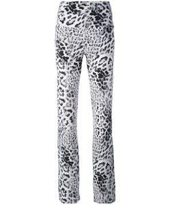 Norma Kamali   Flared Leopard Trousers