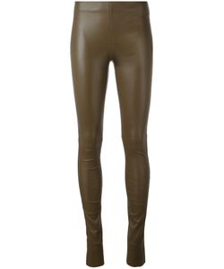 Joseph | Leather Leggings 38