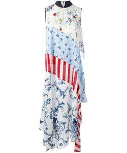 Antonio Marras | Patchwork Maxi Dress 40 Spandex/Elastane/Cupro/Viscose