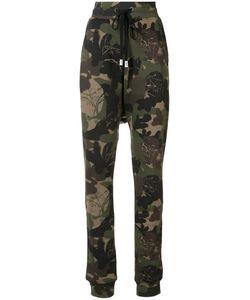 HACULLA | Camouflage Print Track Pants Size Medium