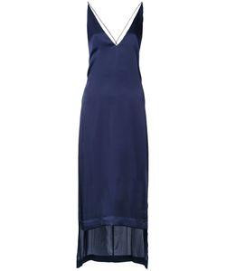 Dion Lee   V-Neck Cami Dress 6 Polyester