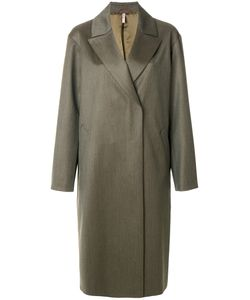 Indress | Boxy Button Coat Women 2