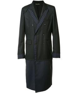 COMME DES GARCONS HOMME PLUS | Comme Des Garçons Homme Plus Pinstriped Laye Coat Medium