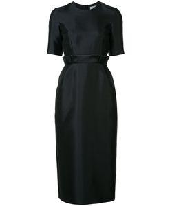 Gabriela Hearst | Pleated Waist Midi Dress 38 Silk/Wool
