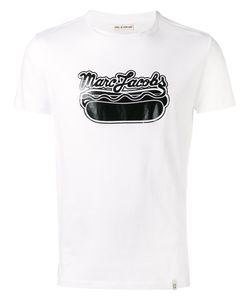 Marc Jacobs | Logo Hot Dog T-Shirt Large Cotton