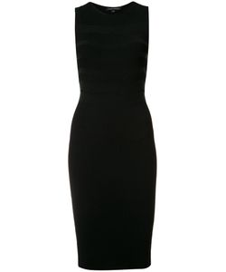 Narciso Rodriguez | Ribbed Knit Fitted Dress 44 Viscose/Wool/Spandex/Elastane/Polyester