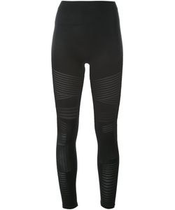 Barbara I Gongini | Sheer Stripe Leggings 1 Polyamide/Spandex/Elastane