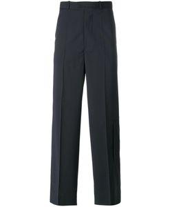 Diesel Black Gold | Tailo Wide-Leg Trousers 48 Polyester/Wool/Spandex/Elastane
