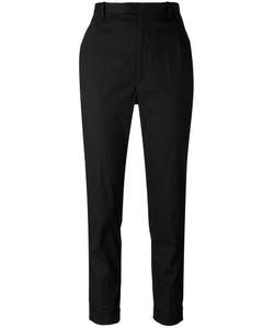 Isabel Marant Étoile | Cropped Cigarette Trousers 38 Cotton/Linen/Flax/Spandex/Elastane