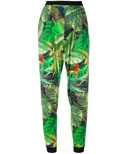 Max Mara | Tropical Print Cropped Trousers