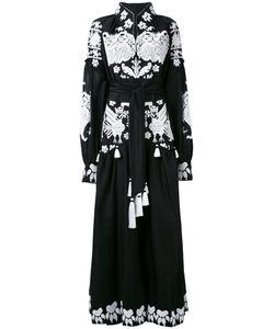 Yuliya Magdych | Длинное Платье С Этнической Вышивкой