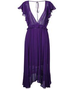 LE CIEL BLEU | Georgette Flared Dress