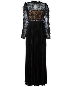 Self-Portrait | Lace Panel Gown 12 Polyester/Polyamide/Cotton
