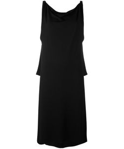 Stephan Janson | Draped Neck Shift Dress