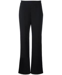 Giorgio Armani | Flare Trousers 42 Silk/Viscose/Polyester