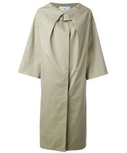 Tsumori Chisato | Collar-Belted Coat Medium Cotton/Cupro
