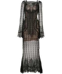 Roberto Cavalli | Lace Long Dress