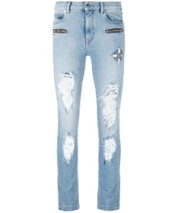 MARCELO BURLON COUNTY OF MILAN | Distressed Jeans